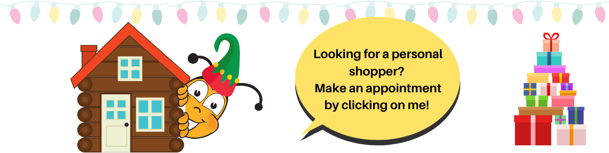 Personal Shopper Available - call us