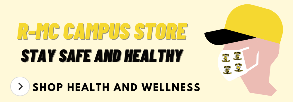 Stay safe and healthy. Shop health and wellness by clicking on the slide
