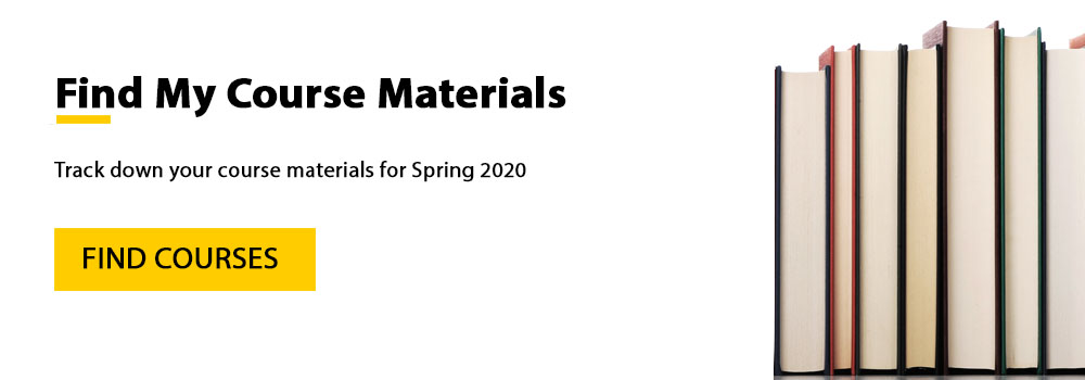 Spring 2020 Course Materials