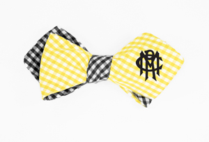 BOW TIE RMC GINGHAM BY OLLY OXEN