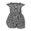 INFANT DRESS GINGHAM YELLOW JACKET BY GARB