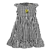 TODDLER DRESS GINGHAM YELLOW JACKET BY GARB