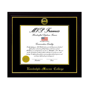 Image For DIPLOMA FRAME BLACK GLOSS