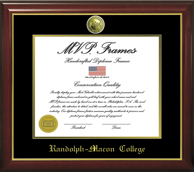 Image For DIPLOMA FRAME CHERRY GLOSS