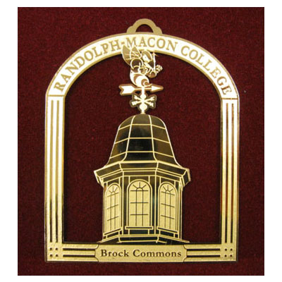 Image For ORNAMENT RANDOLPH-MACON COLLEGE BROCK COMMONS BY JARDINE