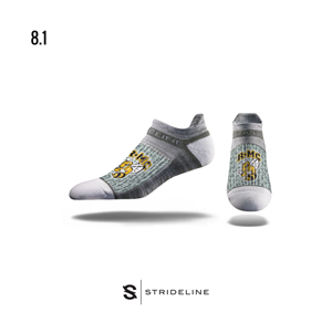 Cover Image For SOCKS R-MC NO SHOW BY STRIDELINE