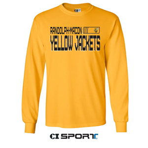 Image For TEE R-M YELLOW JACKETS BY CI SPORT