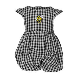 Cover Image For INFANT DRESS GINGHAM YELLOW JACKET BY GARB