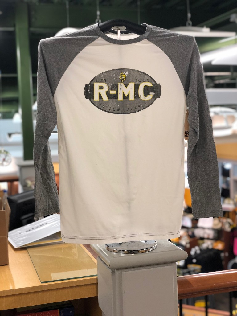Image For TEE RAGLAND MEN'S OVAL RMC