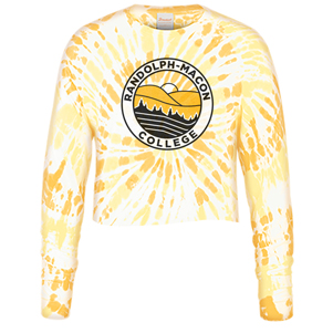 Image For TEE TIE DYE CROP LONG SLEEVED RMC BY USCAPE