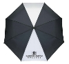 UMBRELLA RMC BLACK/WHITE DELUXE AUTO OPEN BY STORM DUDS Image